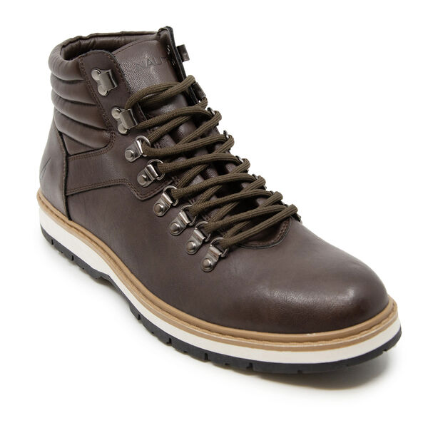LACE UP WINTER BOOTS - Brown Stone