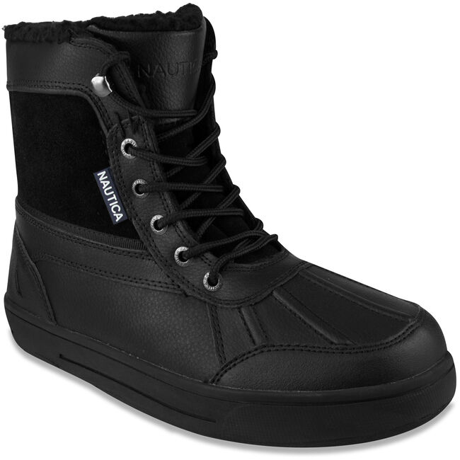 Lockview Lace-Up Boots,True Black,large