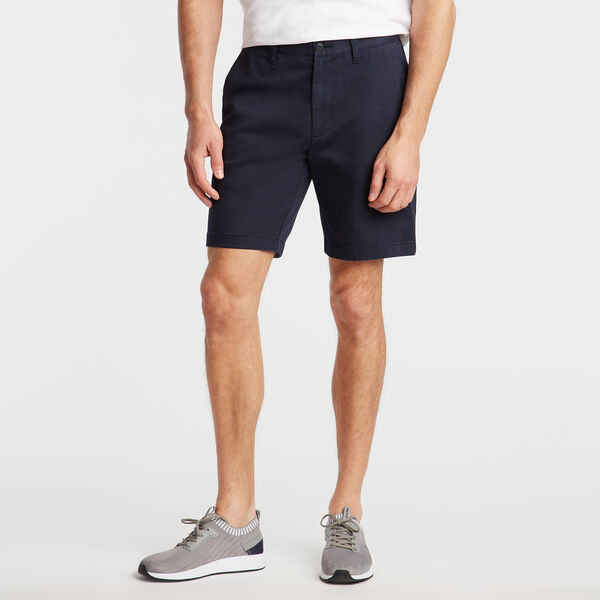 "8.5"" CLASSIC FIT DECK SHORTS WITH STRETCH - True Navy"