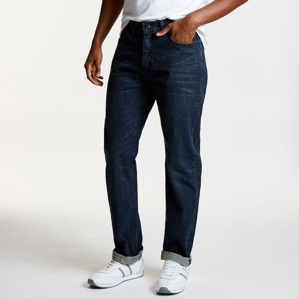 Pure Adriatic Sea Wash Straight Leg Jeans - Summer Wind