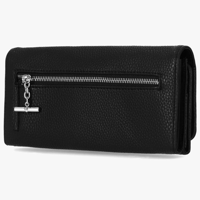 PEBBLED LOGO MONEY MANAGER WALLET WITH BOX,True Black,large