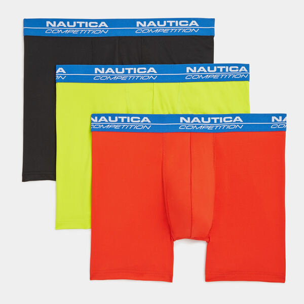 COMPETITION PERFORMANCE BOXER BRIEF, 3-PACK - Night Sky