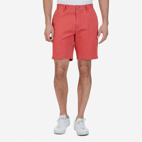 Big & Tall Flat Front Classic Fit Shorts - Sailor Red