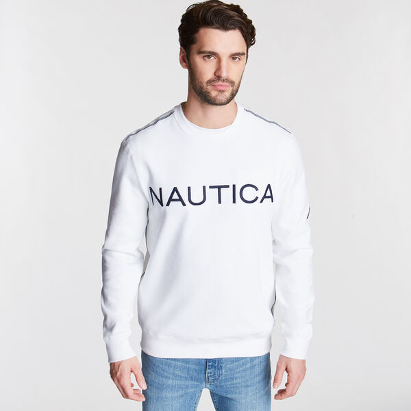 Signature Crewneck Sweatshirt - Bright White