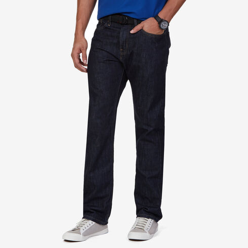 Big & Tall Relaxed Fit Jeans - Marine Rinse Denim Wash