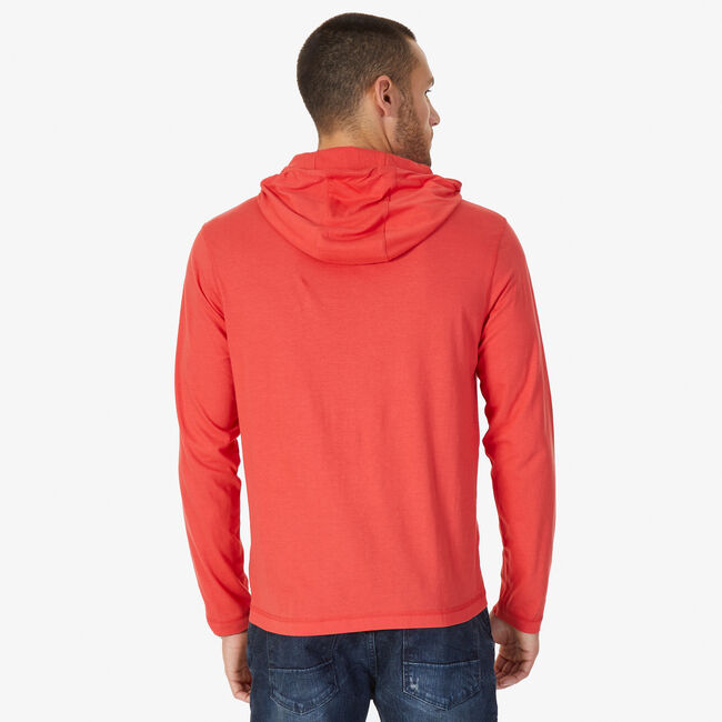 Classic Fit J-Class Hoodie,Sailor Red,large