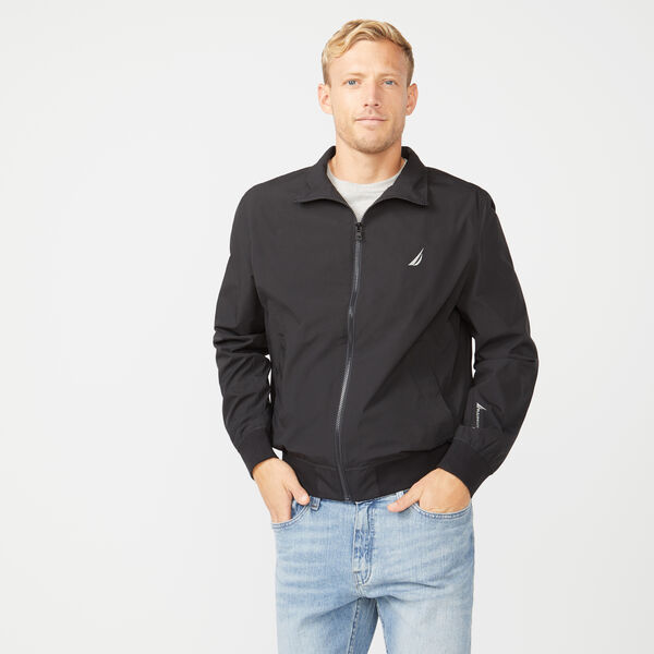 RAINBREAKER BOMBER JACKET  - True Black