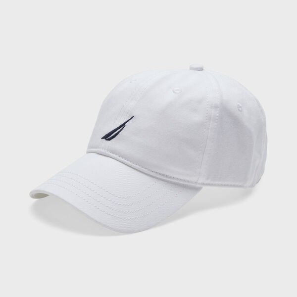 J-CLASS EMBROIDERED PRINT CAP - Antique White Wash