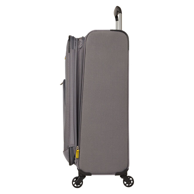 "Brooklyn Bay 29"" Expandable Spinner Luggage,Grey Heather,large"