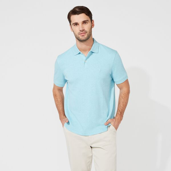 CLASSIC FIT PREMIUM COTTON POLO - Sea Mist