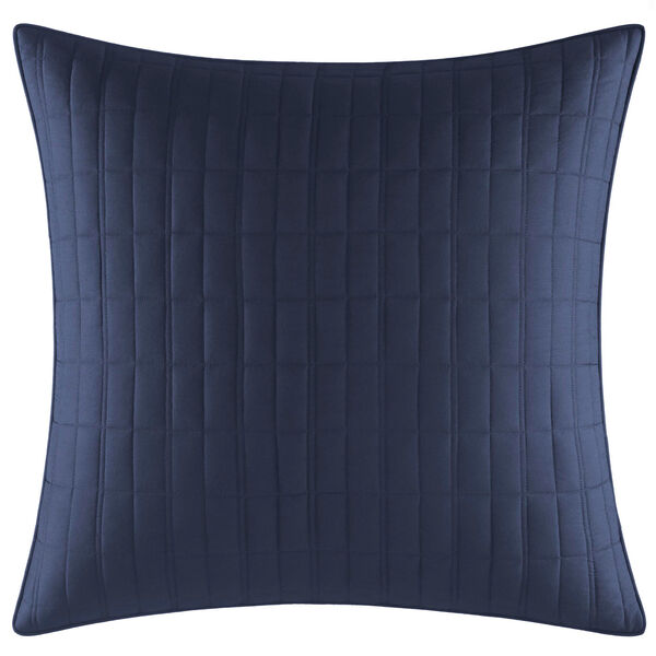 Waterbury Navy Euro Sham - Navy