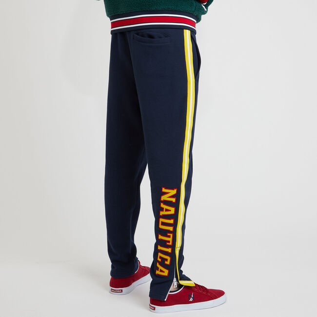 The Lil Yachty Collection by Nautica Classic Fit Track Pant,Navy,large