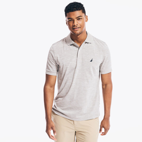 NAVTECH CLASSIC FIT PERFORMANCE POLO - Grey Heather