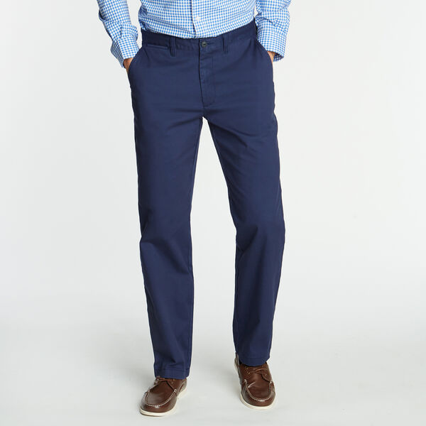 CLASSIC FIT WRINKLE-RESISTANT PANTS - Peacoat