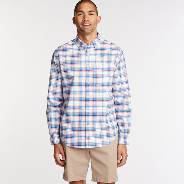 Long Sleeve Classic Fit Oxford Shirt - Clear Skies Blue
