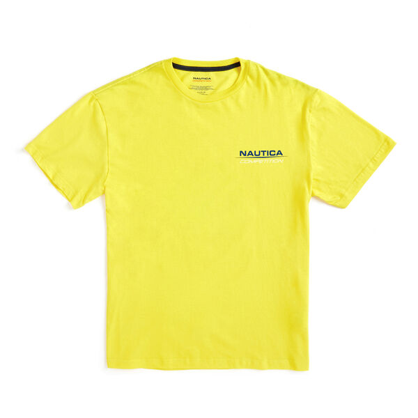 Lil Yachty by Nautica Competition Crewneck Tee - Blazing Yellow