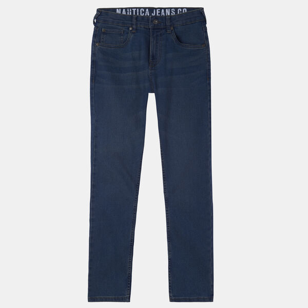 BOYS' STRAIGHT-LEG JEANS (8-20) - Starlight Blue
