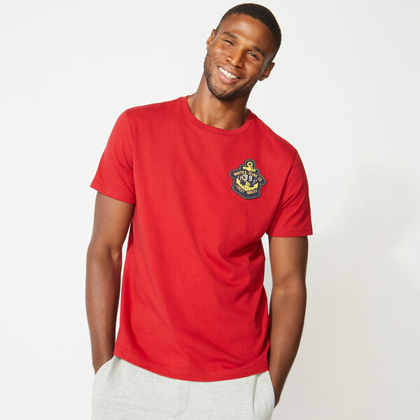 NAUTICA JEANS CO. 99 GRAPHIC TEE - Nautica Red