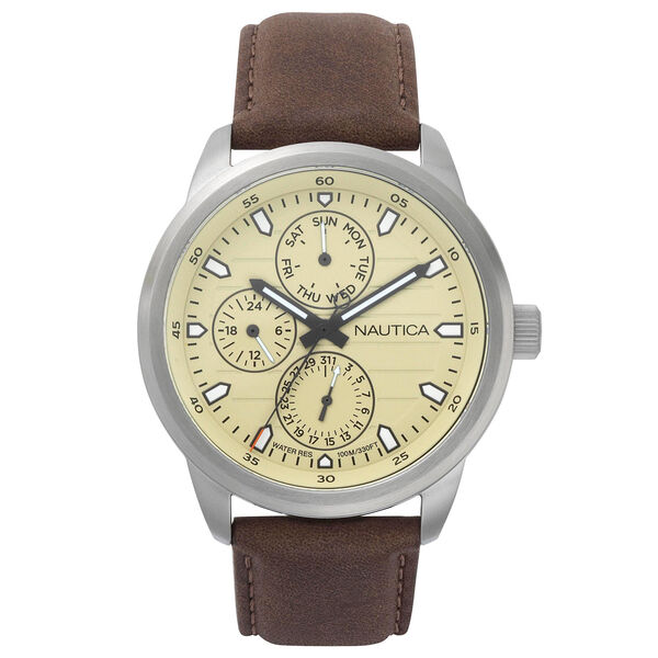 Forbell Multifunction Water Resistant Watch - Brown - Brown