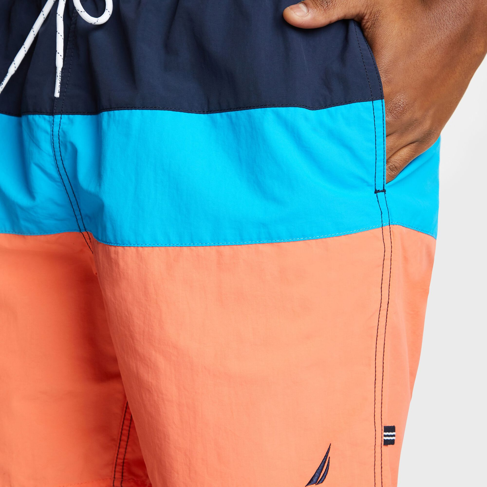 a70e0479f4 Big & Tall Anchor Colorblock Swim Shorts - 18
