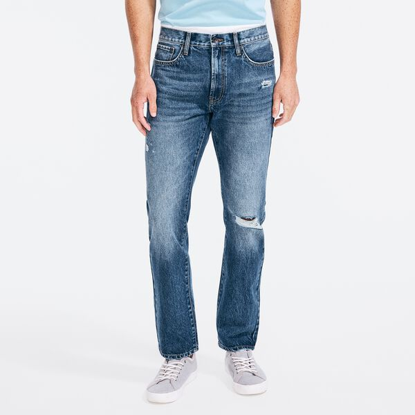 NAUTICA X URBAN NECESSITIES STRAIGHT FIT DENIM - Marine Blue