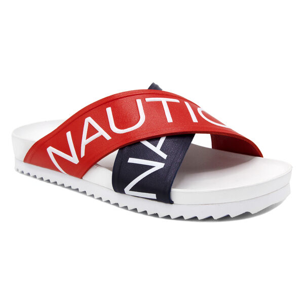 DECK SLIDE SANDAL - Nautica Red