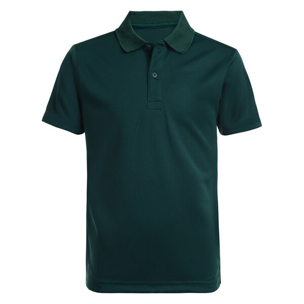 LITTLE BOYS' COTTON PERFORMANCE POLO (4-7) - Verdant Green