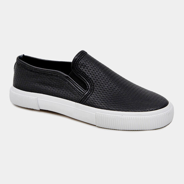 CONAWAY TEXTURED SNEAKERS - True Black