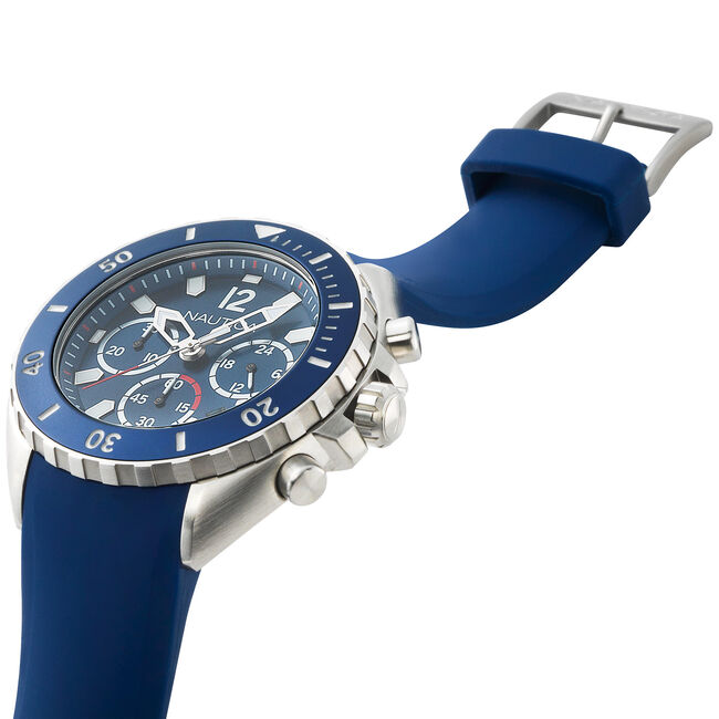 NWP Chronograph Watch - Blue,Multi,large
