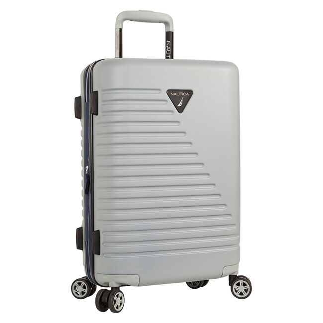 "Flagship 20"" Hardside Spinner Luggage,Charcoal Hthr,large"