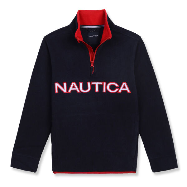 Toddler Boys' Nautica Quarter-Zip Nautex Hoodie (2T-4T) - Sport Navy