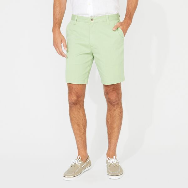 "8.5"" CLASSIC FIT DECK SHORTS WITH STRETCH - Olive"