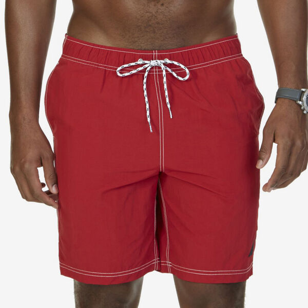 "8"" BIG & TALL SWIM TRUNKS - Nautica Red"
