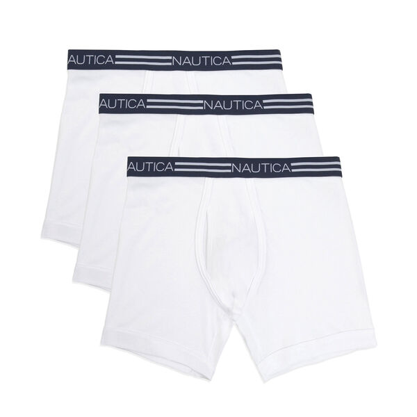 Classic Boxer Briefs, 3-Pack - Bright White