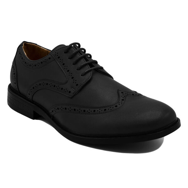 Miles Oxford in Burnished Black - True Black