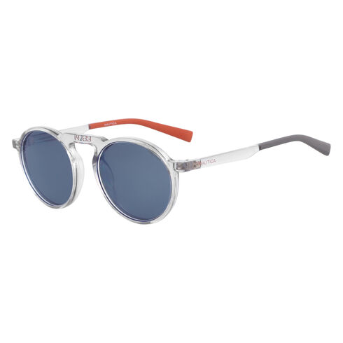 RETRO SHAPE SUNGLASSES - Atlantic Dark