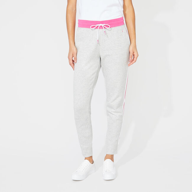 SIDE STRIPE JOGGERS,Fog,large