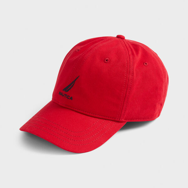 J-CLASS EMBROIDERED CAP - Flare Red