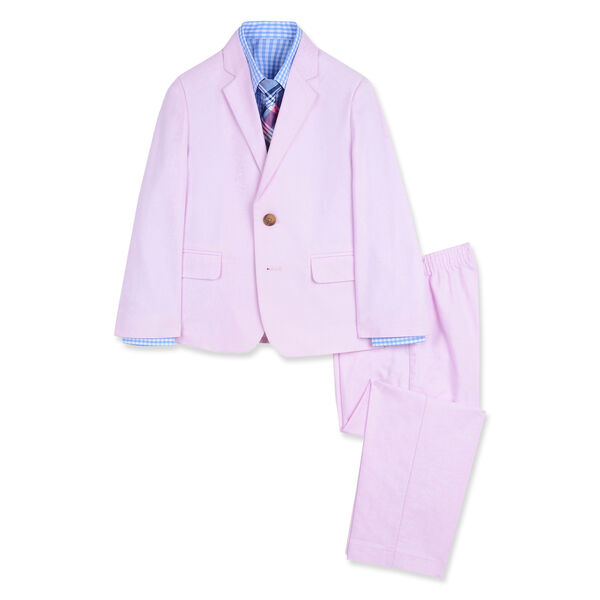 Toddler Boys' Oxford Suit Set (2T-4T) - Riviera Pink