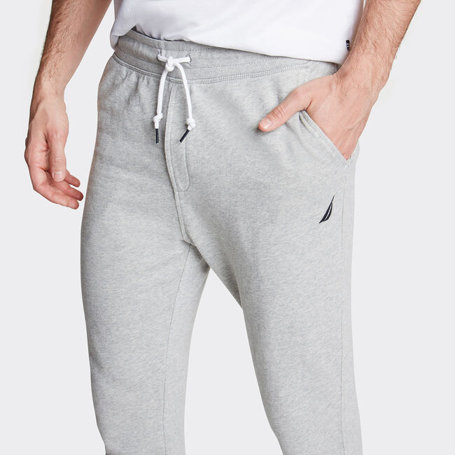 Classic Knit Joggers,Grey Heather,large