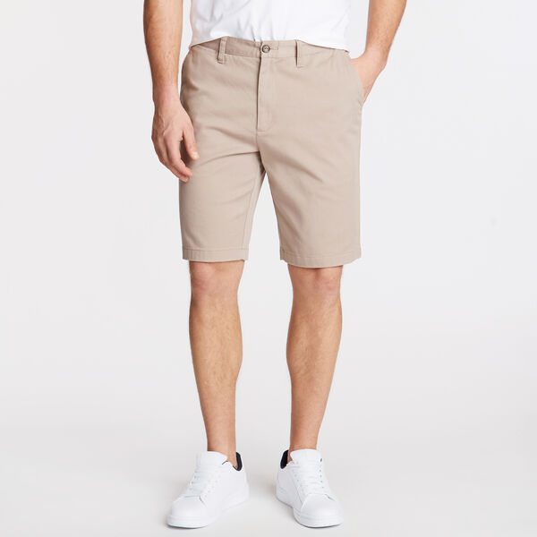 "10"" CLASSIC FIT DECK SHORTS WITH STRETCH - True Khaki"