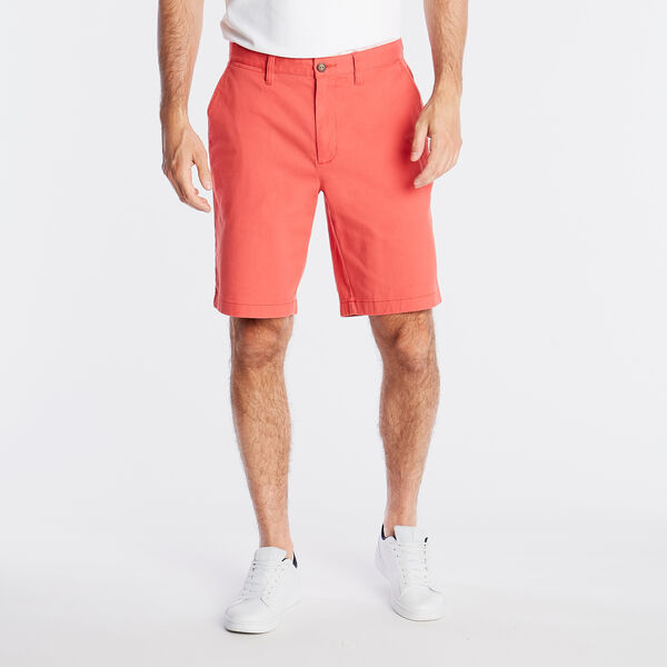 "10"" CLASSIC FIT DECK SHORT WITH STRETCH - Sailor Red"