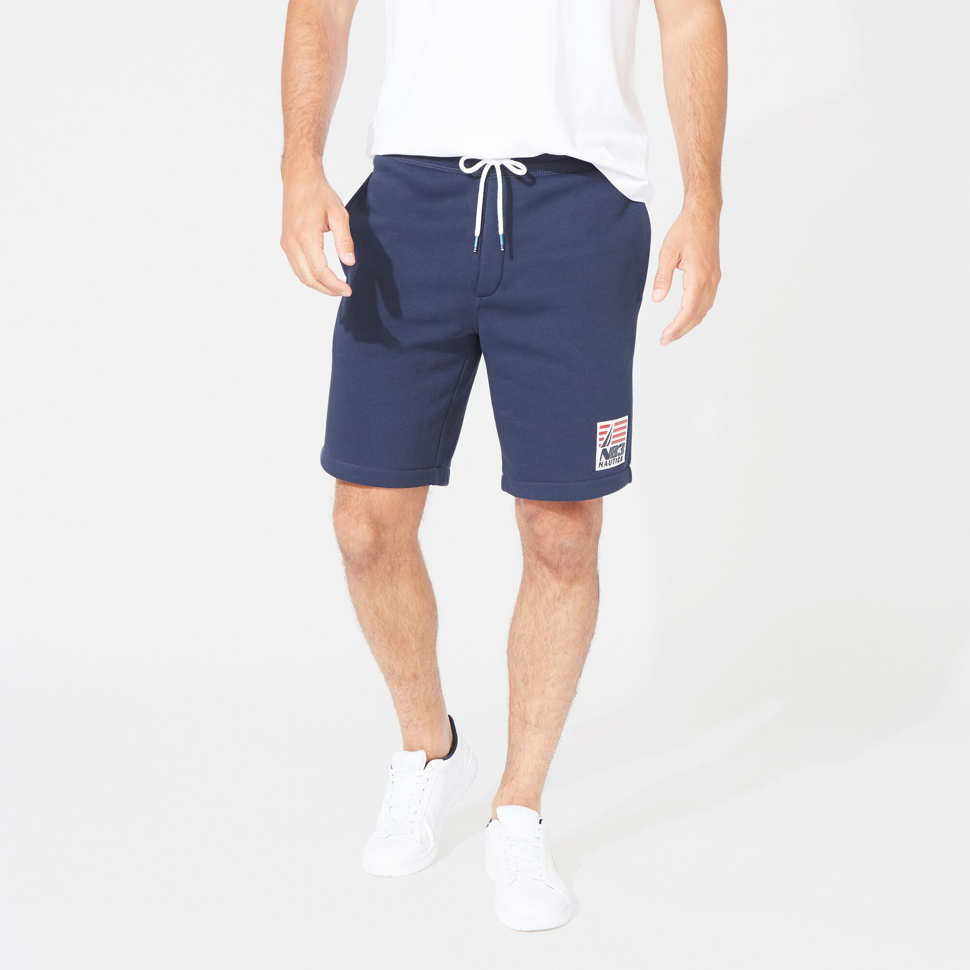 Neuf avec étiquette Homme NAUTICA Sailor Red Belted Short kaki taille 38 casual