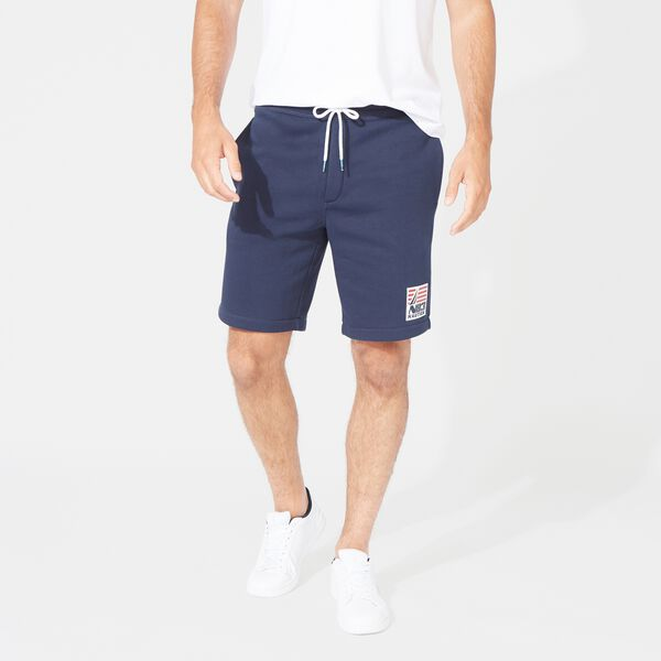 "8.5"" N83 LOGO KNIT SHORT - Navy"