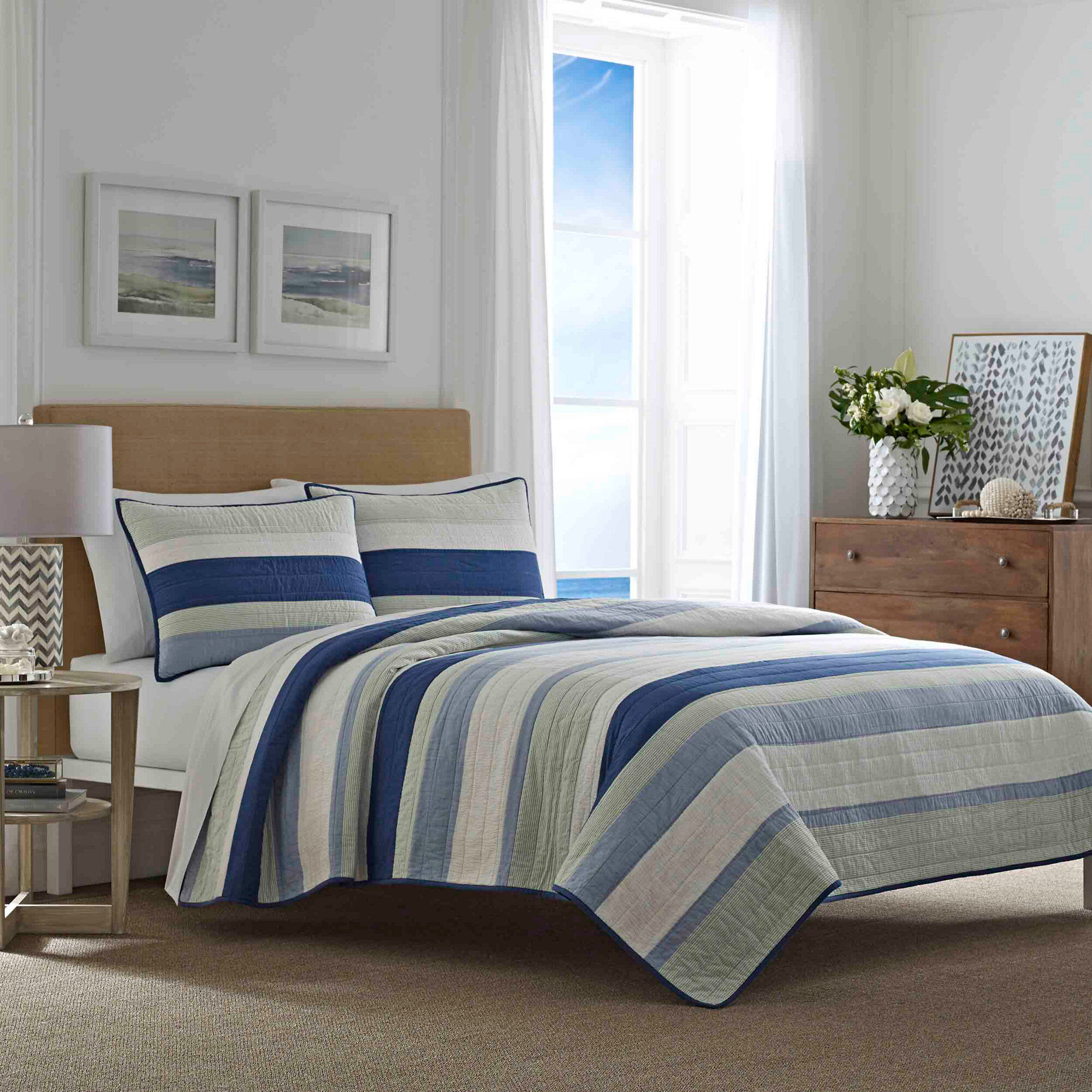 Home & Garden The Cheapest Price ***sale*** New Essentail Homes Full/queen Quilt