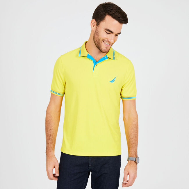 Big & Tall Navtech Classic Fit Polo,Blazing Yellow,large