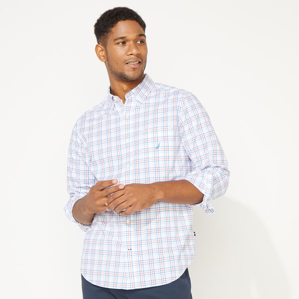 CLASSSIC FIT PLAID SHIRT - Coral Dream