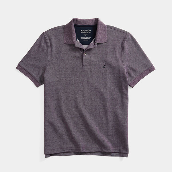 CLASSIC FIT DECK KNIT POLO - Majestic Purple