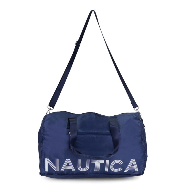PACKABLE WEEKENDER,Navy,large