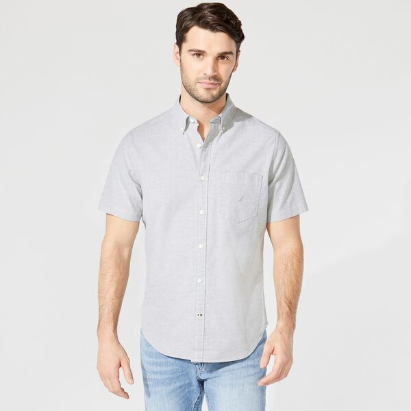 SHORT SLEEVE OXFORD SHIRT - Everglades Green
